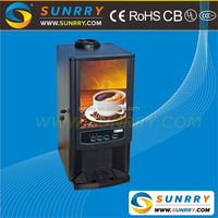 Professional Commercial Italy instant coffee boiler machine with 3 tanks