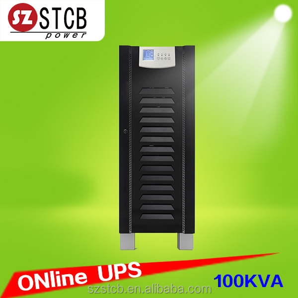 Competitive Price Ture online double conversion low frequency 100kva ups