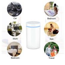 Newest Seven Color Light Perfect Soundless Chargeable Mist Aroma Diffuser Lamp
