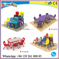 school nursery furniture/nursery table and chair