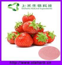 Factory direct sale Strawberry P.E. / freeze dried strawberry powder