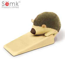 SEMK Hedgehog baby child safety cute glass door wind stopper