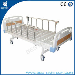 China BT-AE202 CE approved hospital 2 function electric adjustable patient bed price, medical clinic bed manufacturer