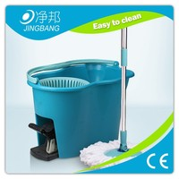 Factory price easy life 360 rotating spin magic mop with pedal