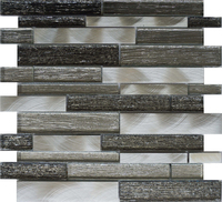 China Cheap Price Mix Color Metal Mosaic Tile For Drawing Room