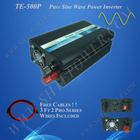 Price converter 12V to 110V, dc to ac power inverter 500W for solar systems