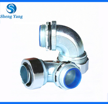 Zinc Alloy Metal 90 Degree Metal Hose Connector/Joint