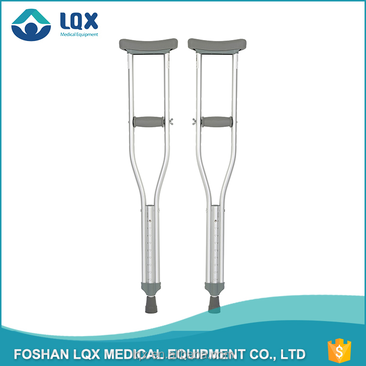 professional factory supply height adjustable disabled axillary crutches price