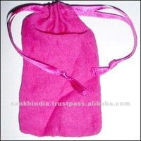 Drawstring Cotton Canvas Bag