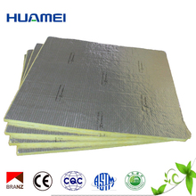 One Faced Aluminum Foil Thermal Insulation Fiber Glass Wool Board