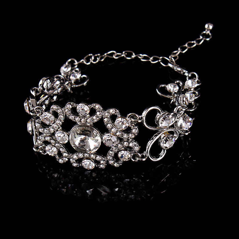 Wedding Jewerly Wholesale Vintage Metal Bracelets for Brides
