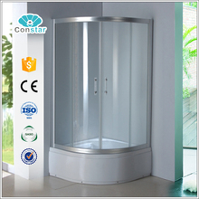 High Base Corner Free Standing Medium Sizes Toilet Shower Cubicle