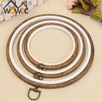 Wholesale Hand Knitting Wooden Embroidery Hoop