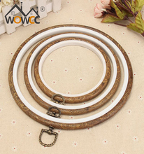 Wholesale Hand Knitting Wooden Embroidery Hoop Craft Hoop with Round Frame