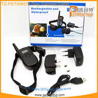 100 Level 300M Electronic Dog Collar Remote Control Anti Bark Dog Shock Training
