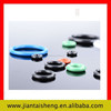 Mechanical rubber gasket for lighting fitting