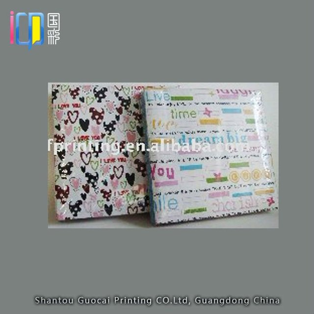Hot sale memory photo collecting handmade foto album for students