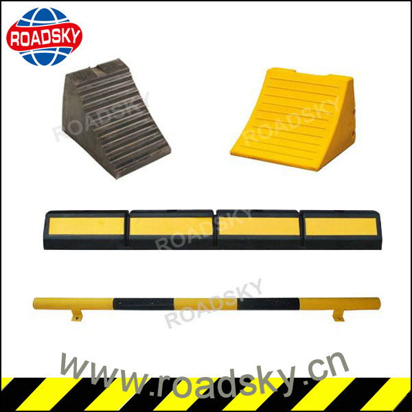 Hot Sell Yellow Safety Plastic Wheel Chock