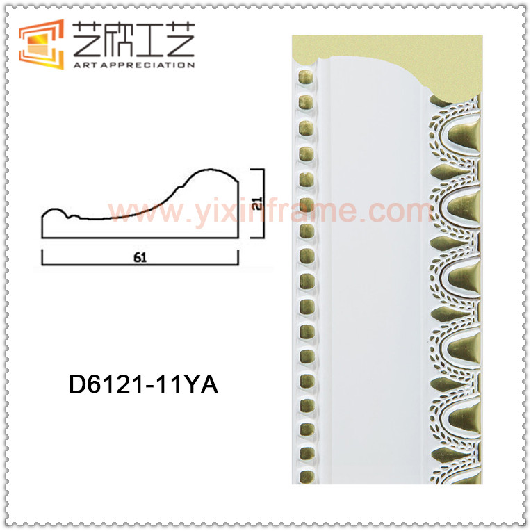 High Quality Decorative Molding Polystyrene Plastic Crown Moulding