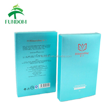 china supplier made offset UV printing foldable custom packaging box for facial mask