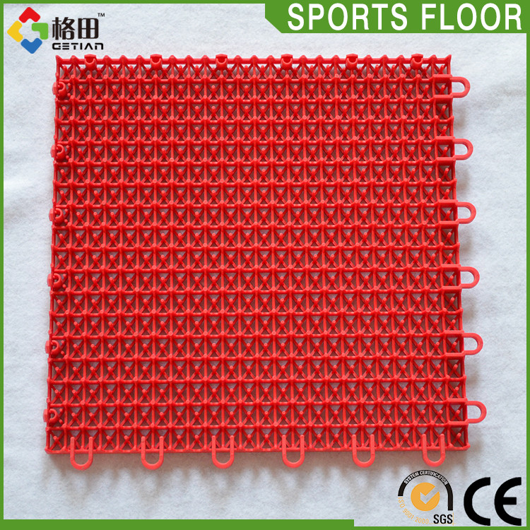 Multi-use colorful movable standard badminton court