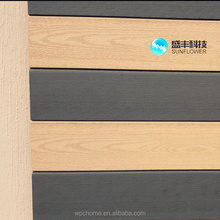 outdoor composite wall cladding/exterior wpc wall panel/decorative wall siding