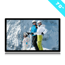 "70"" Inch Wall Mounted Digital Signage Touch Screen Wifi/3G/Android/Internet Lcd Advertising Display Wall Mounted Ad Media Player"