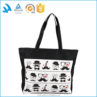 Custom Printed Organic Cotton Canvas Tote Bag for Women