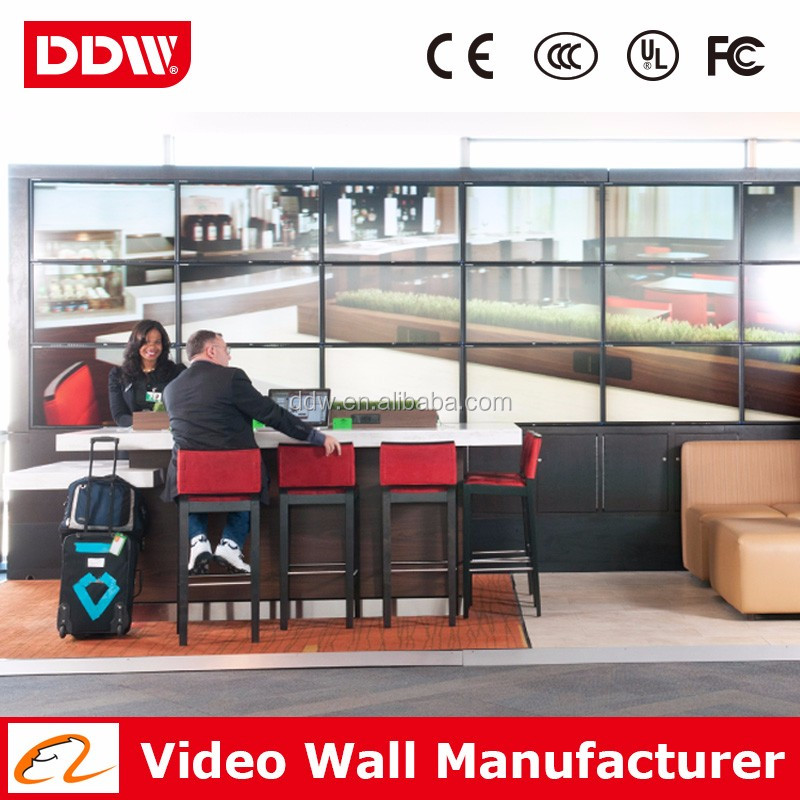 "Factory wholesale 47"" LG thin bezel 1080P lcd video wall price for clothing store DDW-LW4702"