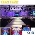 Aluminum exhibition spigot truss system , portable truss stage roof truss systems
