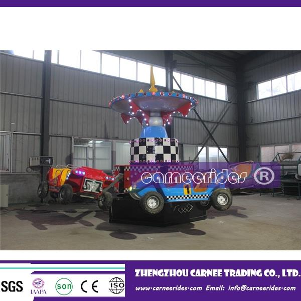 Attractions playground machine rotary jumping cars fairground equipment kids rides