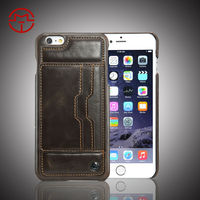 Stand leather cheap for iphone6 plus cell phone case