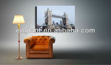 high quality hot sale picture to canvas print of London Tower bridge