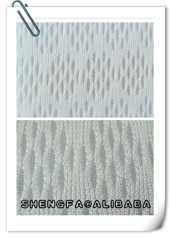 new design 3d air mesh polyester fabric for sports shoes