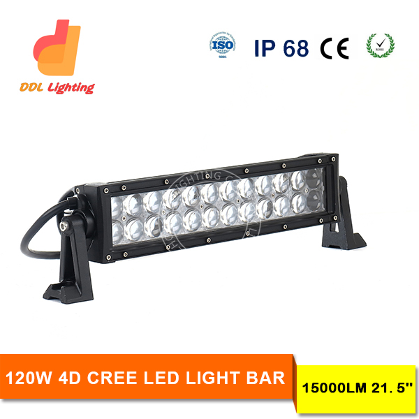 Wholesale 4D lens sbest spot 72W 6000LM led car roof rack light 13.5inch 10~30V DC auto led light bar for ATV and truck