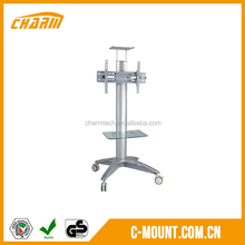 Tv trolley furniture with wheels, removable tv trolley designs