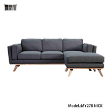 High Quality Fabric Sofa Living Room <strong>Furniture</strong> with Ottoman MY278