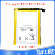 Original 2330 mAh 3.7V mobile battery for For Sony ZL C6503/C6502/C6506 external battery LIS1501ERPC