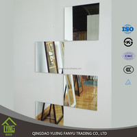 3mm wall decorative mirrors decoration mirror mirrored wall