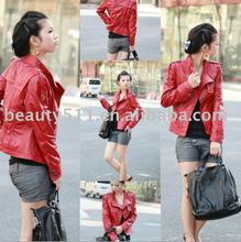 fashionable leather wear leather jacket leather coat fall/winter coat F0025wxx