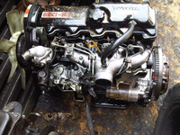 USED GOOD QUALITY TOYOTA 2L 3L 5L DIESEL ENGINE
