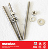"Stainless Steel All-thread Rod "" cable to ground rod"""