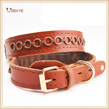 Soft Dog Collar Leather For Large Size