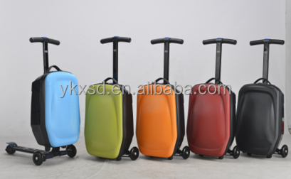 Aluminum alloy scooter luggage for travel / president luggage