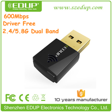 EDUP New Product Driver Free Dual Band WiFi USB Adapter for IPTV