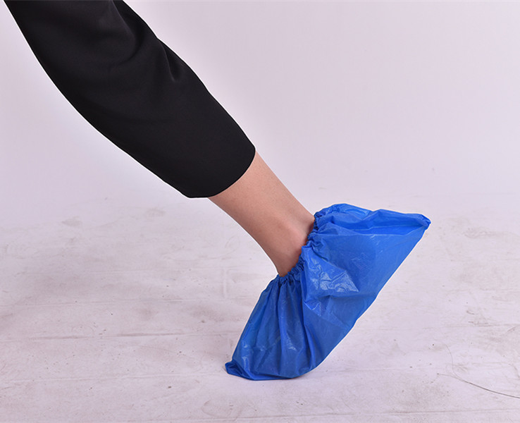 cleam room Properties anti-slip shoe cover/ shoe cover heavy gram 12g