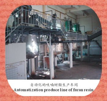 High quality furan resin, self-hardening furan resin/no-bake furan resin for metal casting, made in China