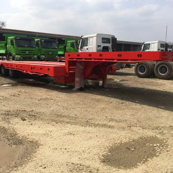 for sale 14T low flat bed trailer with good quality