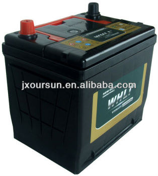 Hot Export High Quality Sealed Maintenance Free Car Batteries- 75D23RMF 12V65AH WHLI