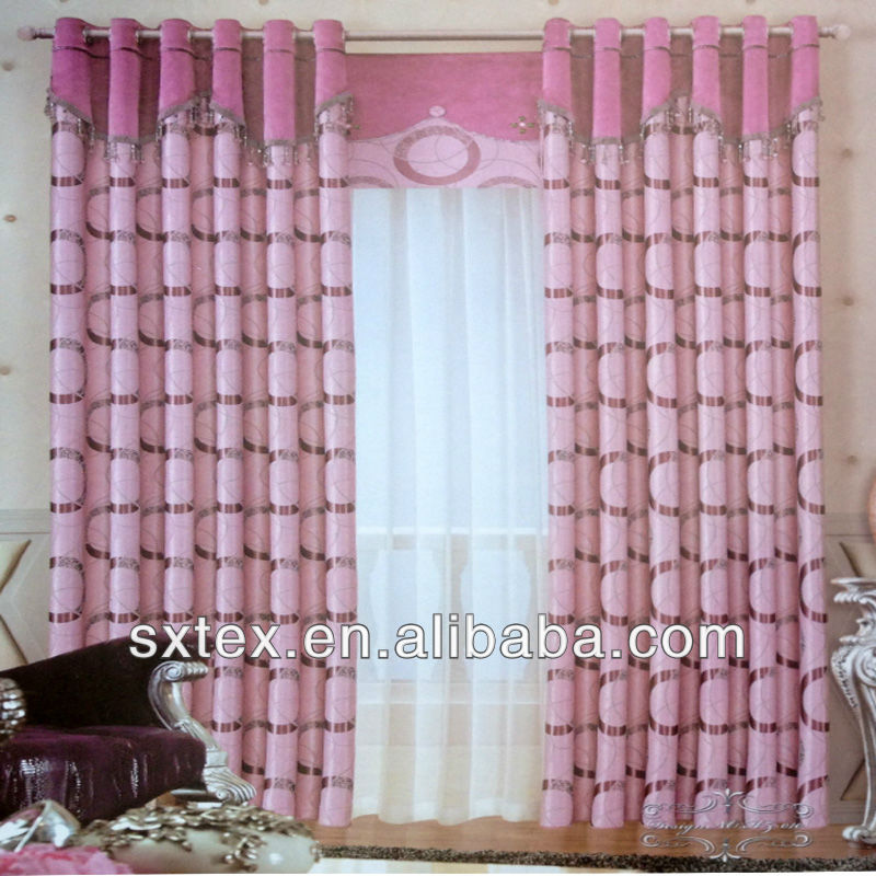 NEW! 2013 Hot Sale Jacquard Blackout Luxury for kitchen curtains patterns